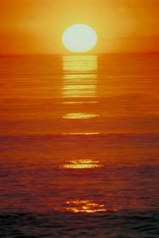 sun, water